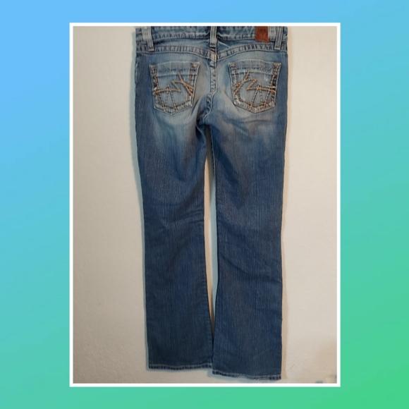 BKE Womens Kate Boot Cut Jeans Sz 27x31.5 Stretch
